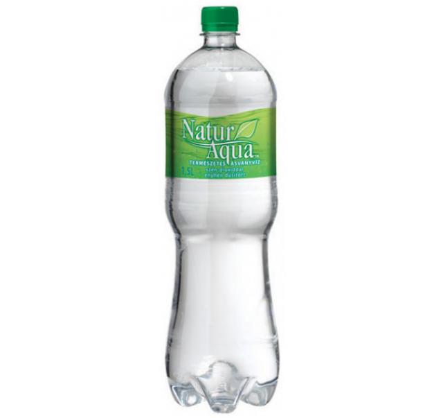 NaturAqua ásványvíz 1,5 L enyhe