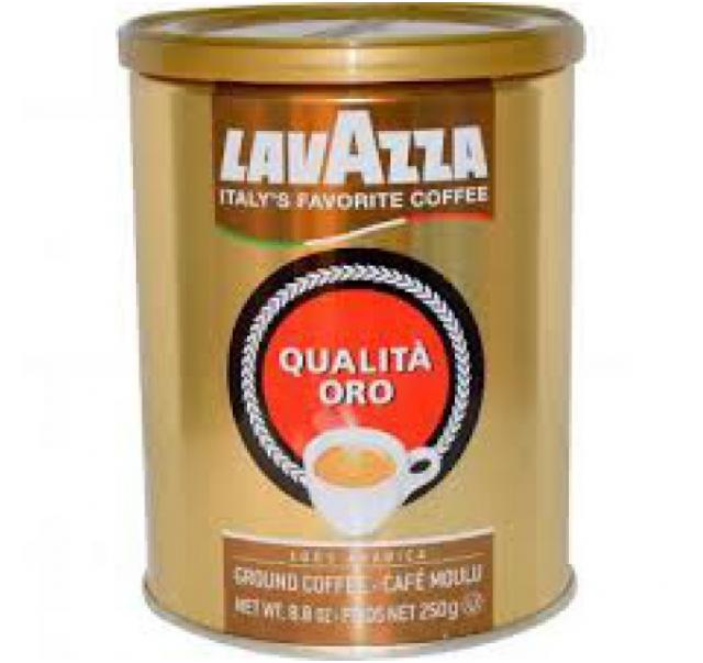 Lavazza kávé Qualita Oro 250 g fémdobozos