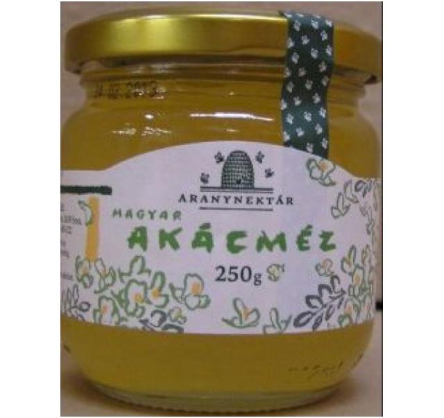 Magyar akácméz üveges 250 g