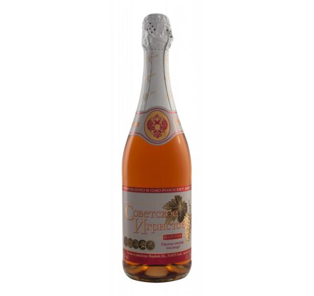 Szovetszkoe Igrisztoe pezsgo 0,75 L rosé
