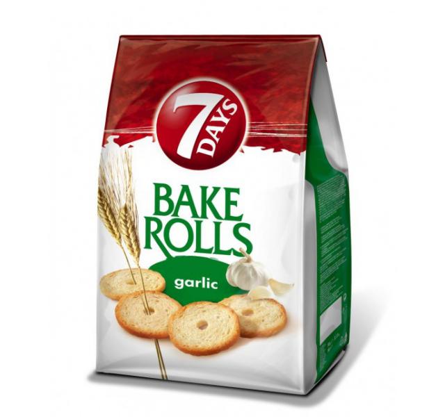 Bake Rolls 80 g fokhagymás