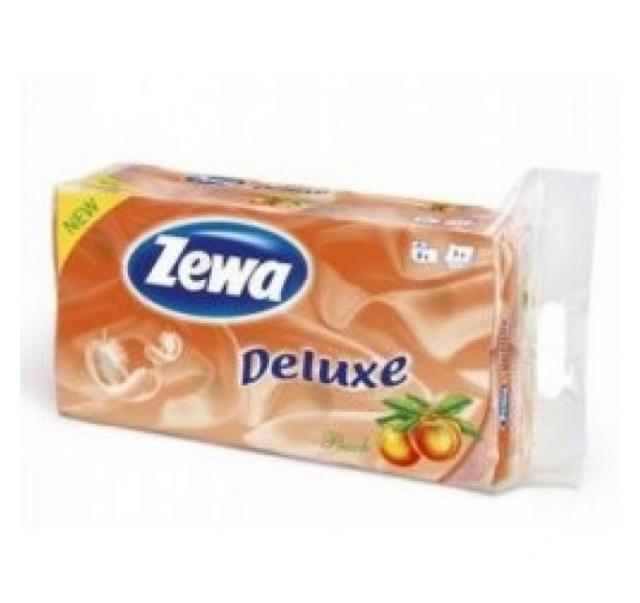 Zewa Deluxe toalettpapír 3 rétegű 8 tekercs barack