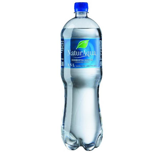 NaturAqua ásványvíz 1,5 L savas