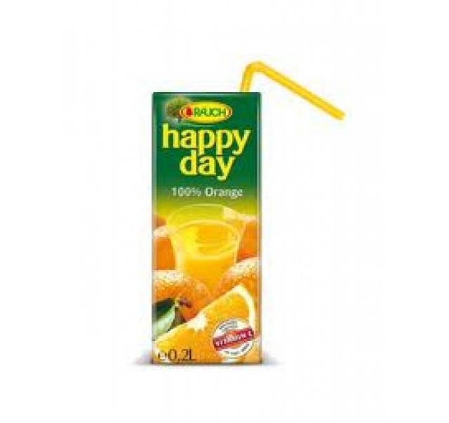 Happy Day üdíto 0,2 L 100% narancs