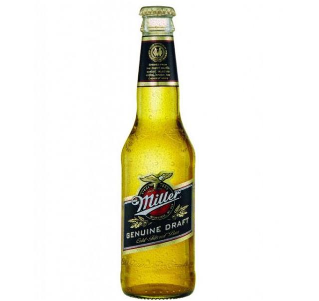 Miller Genuine Draft 0,33 L üveges sör