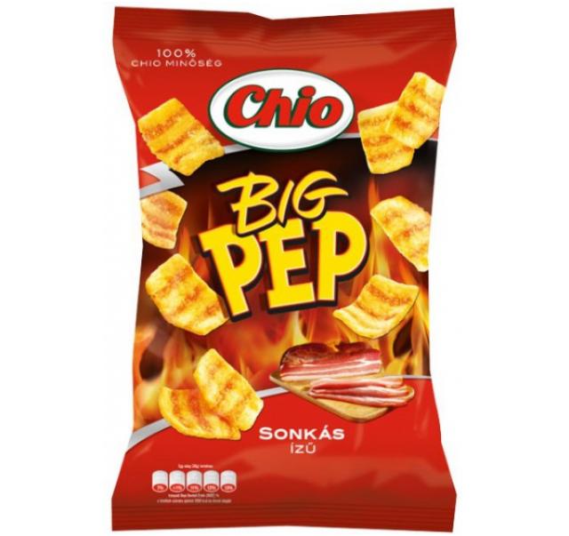 Chio Big pep 65 g ham flavoured