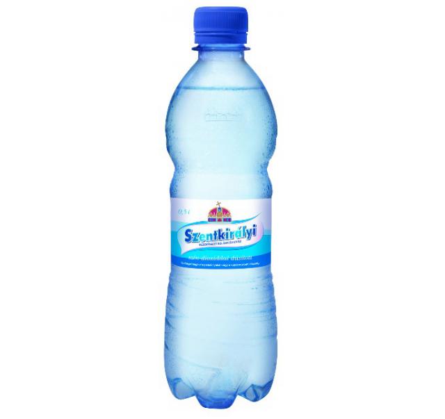 Szentkirályi ásványvíz 0,5 L szénsavas