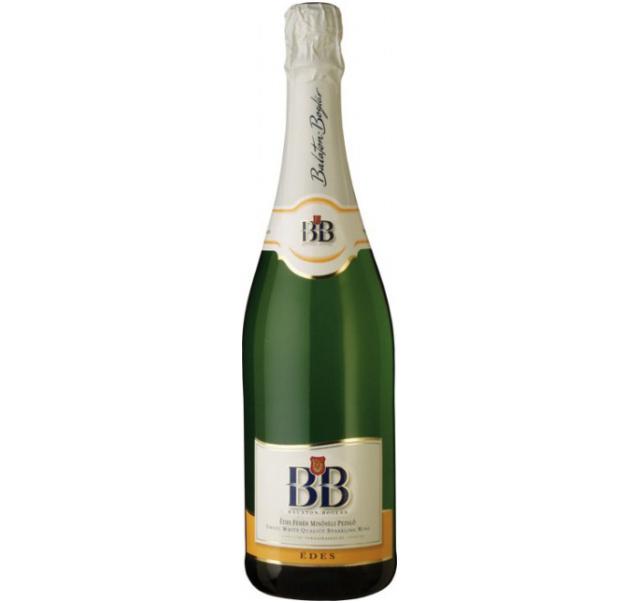 BB pezsgő 0,75 L Eldobható üveges Doux édes