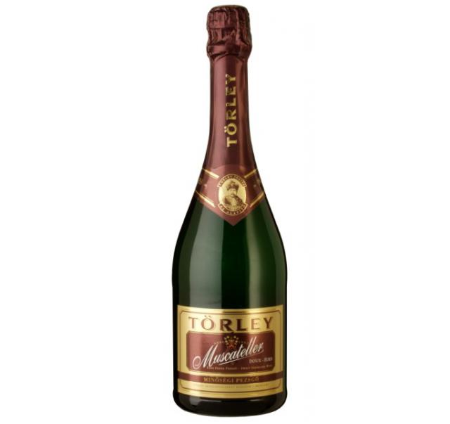 Törley pezsgő 0,75 L Eldobható üveges Muscateller édes