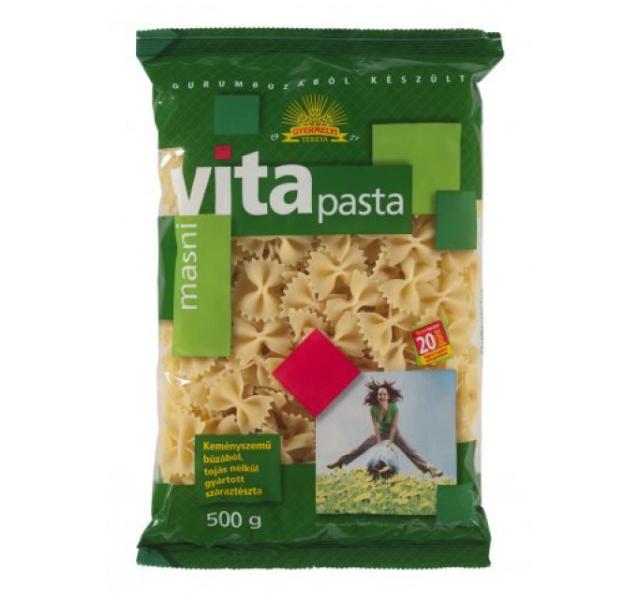 Gyermelyi Vita Pasta tészta 500 g masni