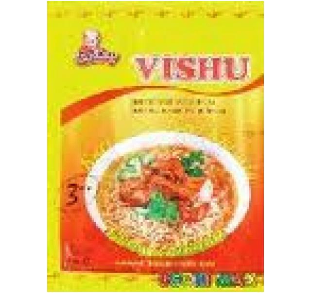 VISHU currys ízesítésű leves 60 g
