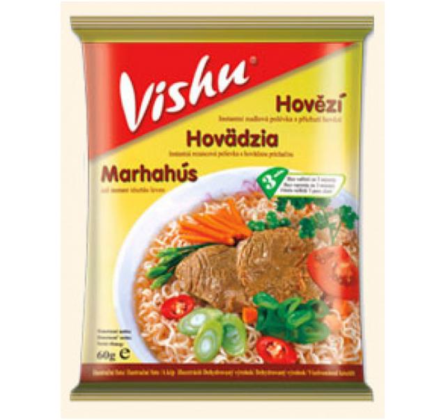 VISHU marhahús ízű leves 60 g