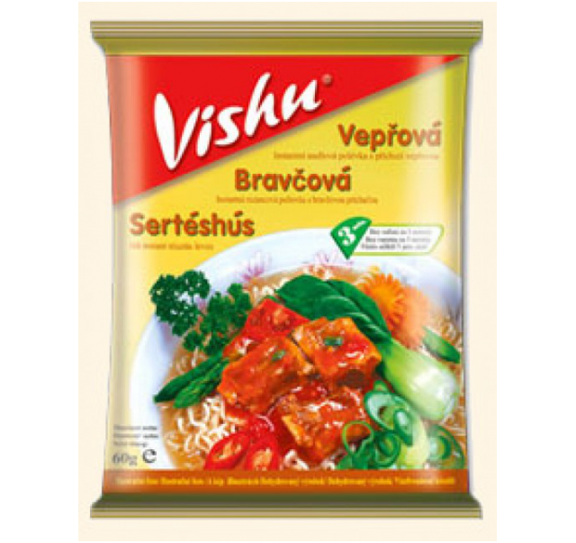 VISHU sertéshús ízű leves 60 g