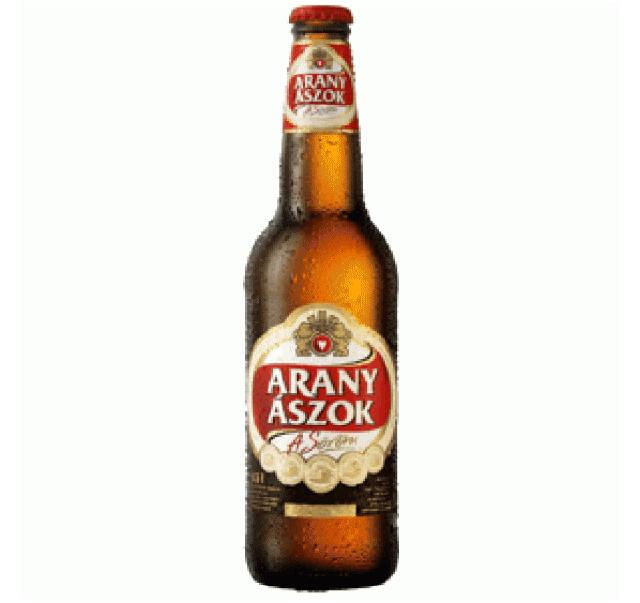 Arany Ászok 0,5 L üveges világos sör