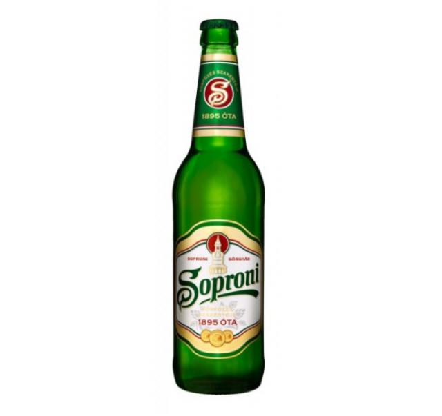 Soproni 0,5 L üveges világos sör 4,5%