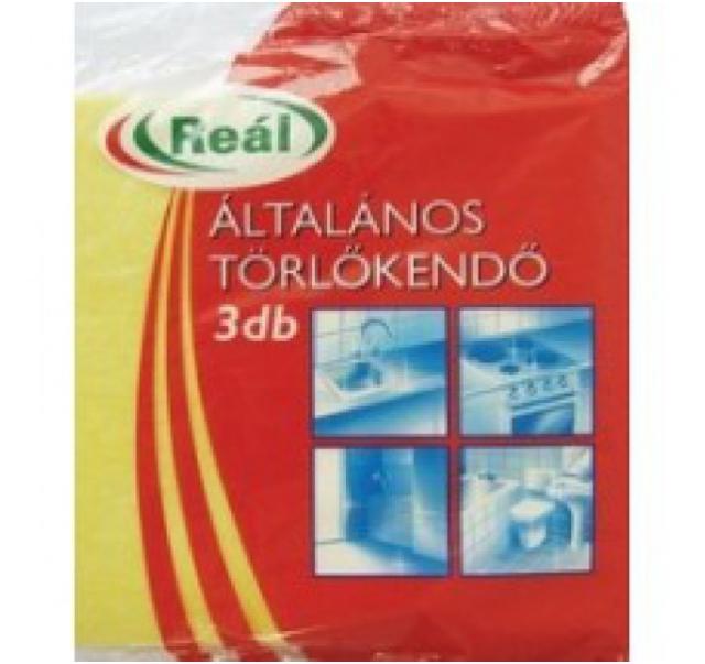 Reál Cleaning Cloth 3 db-os