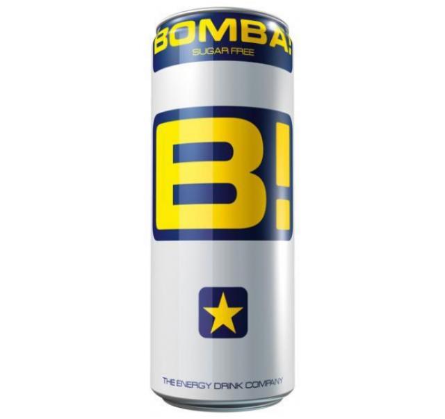 Bomba! 250 ml cukor mentes energiaital dobozos