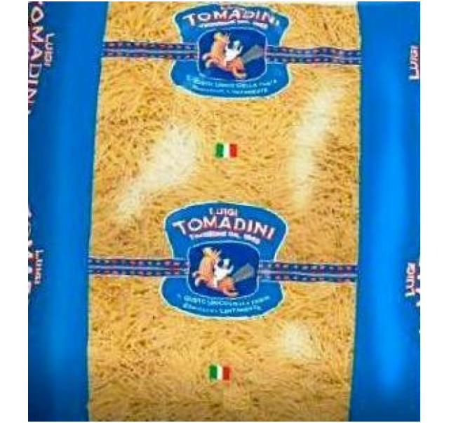 Tomadini cérnácska tészta ömlesztett 5 kg