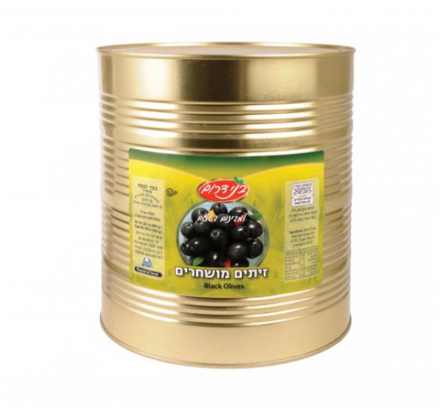 Yavne fekete Manzalino olivabogyó 9 l