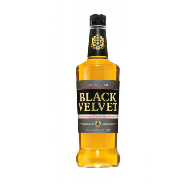 Black Velvet Whisky 40% 0,7 L