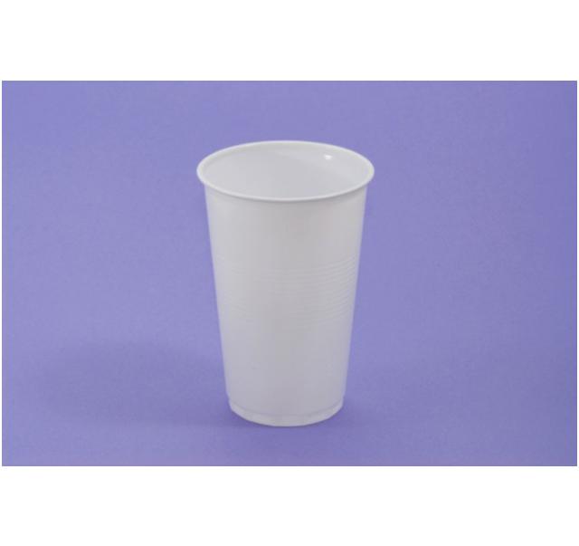 Muanyag pohár fehér 3 dl 80 db