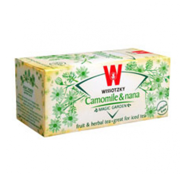 Wissotzky Chamomile&nana tea KFP