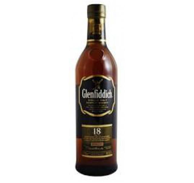 Glenfiddich skót whisky 0,7 L 18 éves