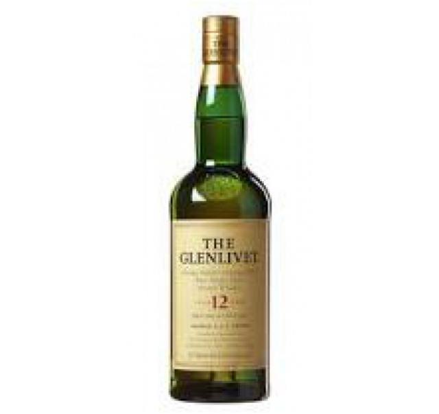 Glenlivet skót whisky 0,7 L 12 éves