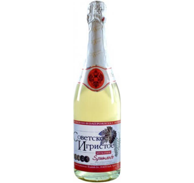 Szovetszkoe Igrisztoe pezsgő 0,75 L édes Muskotály
