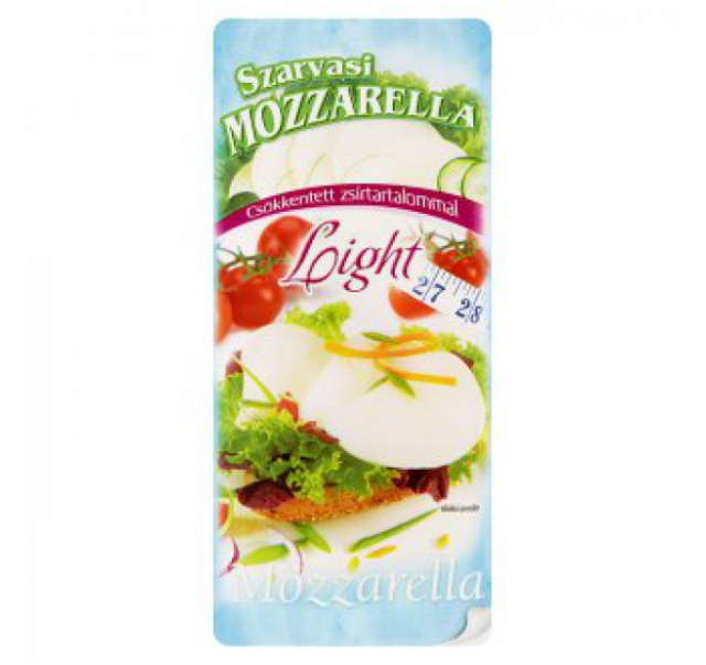 Szarvasi mozzarella light szel. 100 g