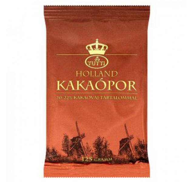 Holland kakaópor 125 g 20-22% kakaóvajjal