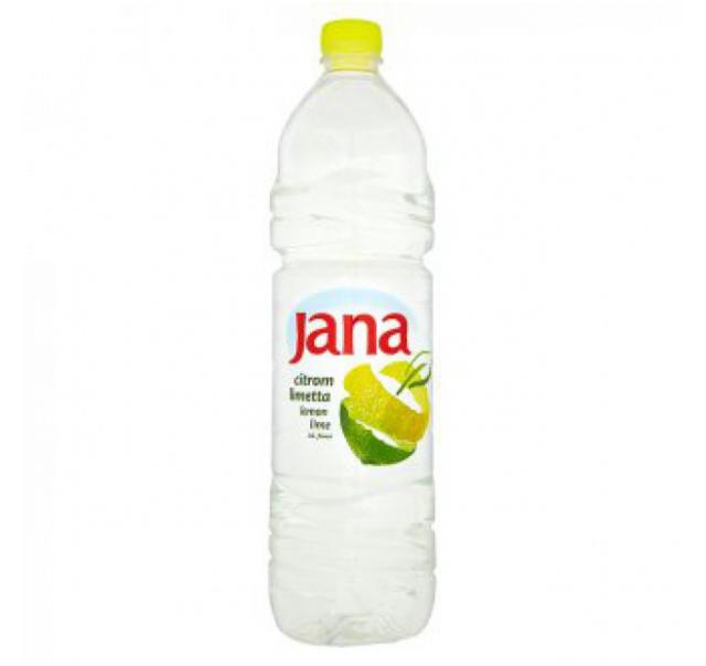 Jana citrom-limetta ízű szénsavmentes ásványvíz 1,5 L