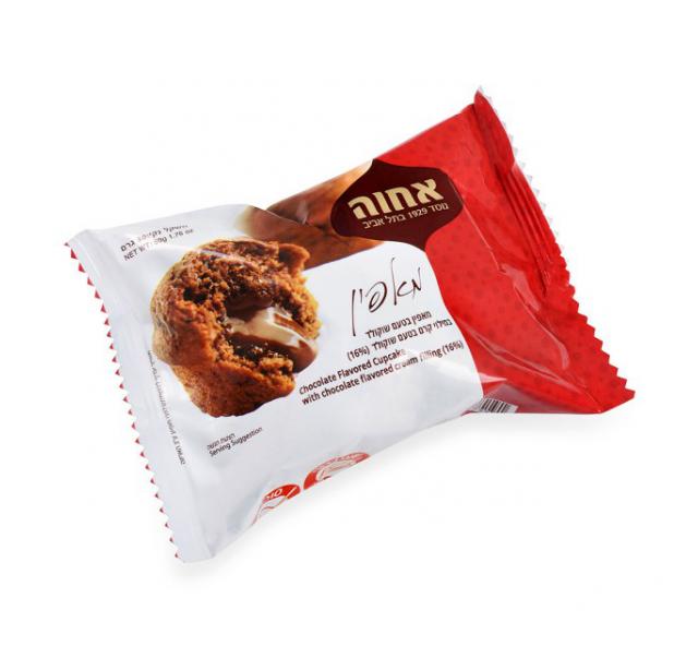 Achva Vaníliás Muffin csoki töltelékkel 50 g