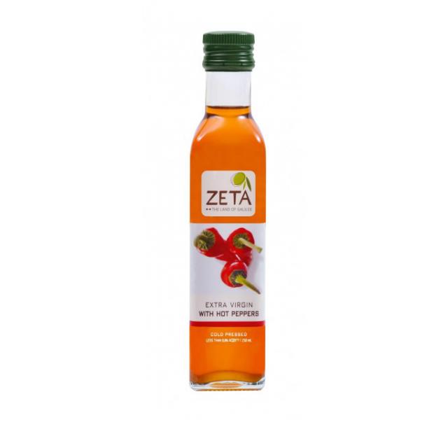 Zeta Extra szuz olívaolaj chilipaprika íz 0.25 L