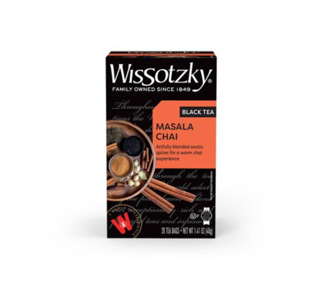Wissotzky Chai Masala tea KFP