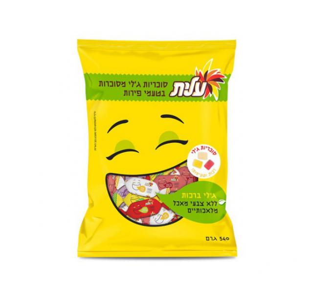 Elite Jelly gyümölcsös ízesítéssel 540 g