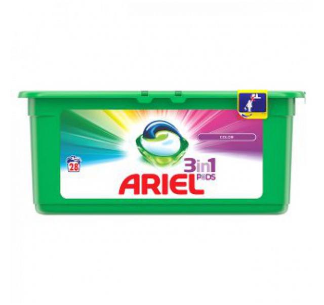 Ariel active gél kapszula 28 db Color