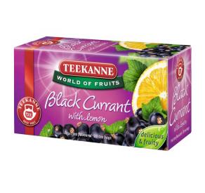 Teekanne Blackcurrant with lemon 50 g