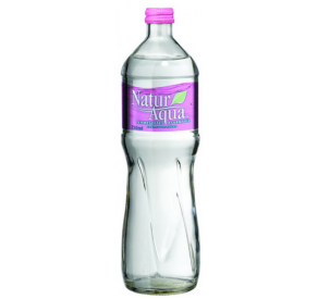 Natur Aqua ásványvíz mentes  0,25L üveges